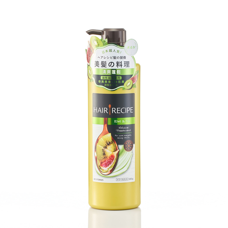 Hair Recipe Kiwi & Fig Volume Treatment Conditioner 530g