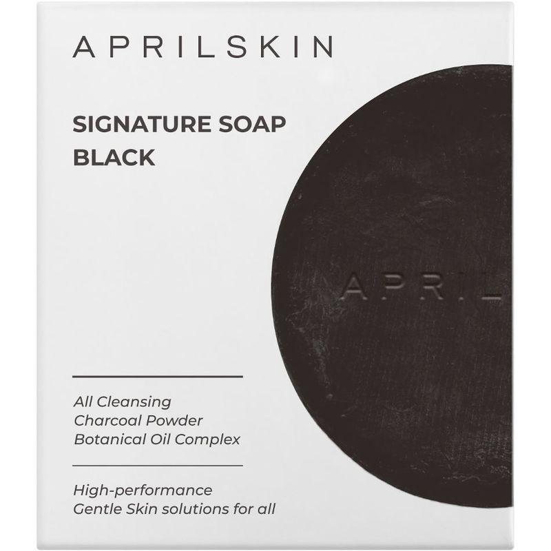 Aprilskin Signature Soap Black