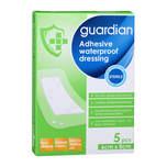 Guardian Adhesive Waterproof Dressing 6cm X 8cm, 5pcs