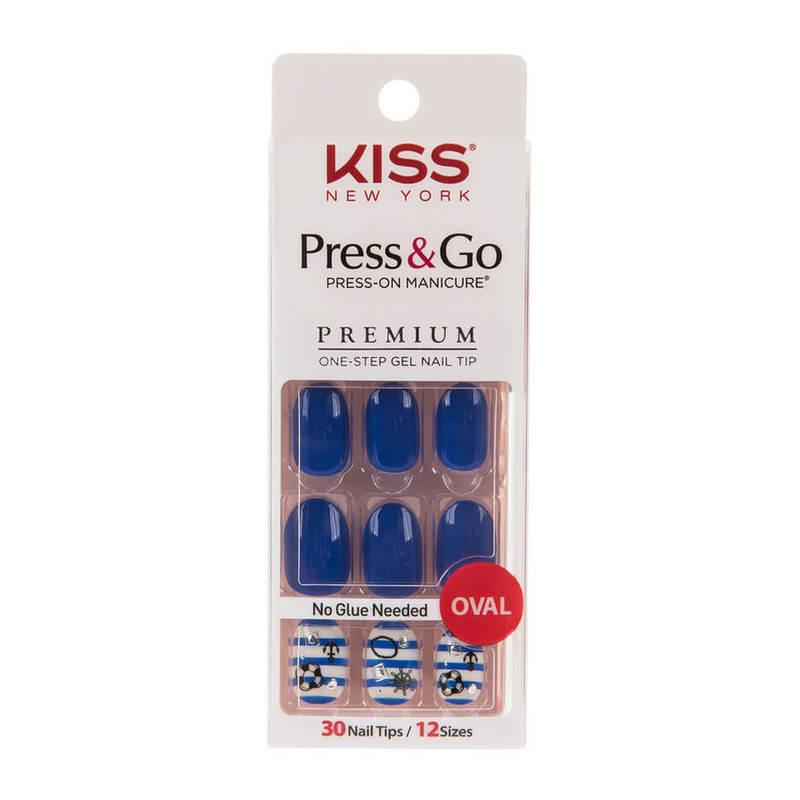 Kiss New York Press & Go Gel Nails PPO01K