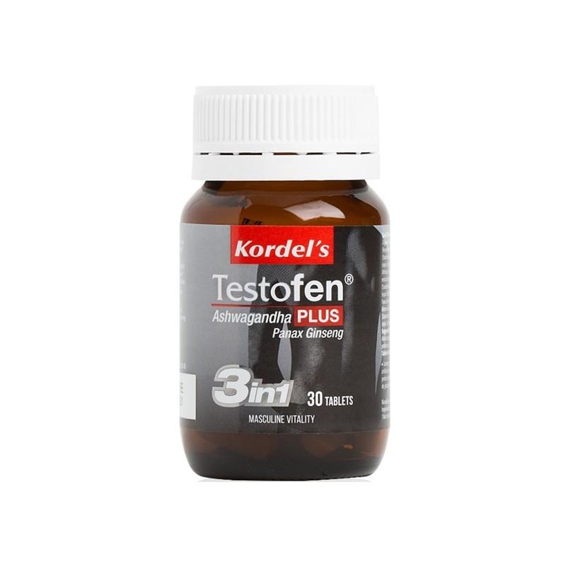 Kordel's Testofen® Plus Ashwagandha And Panax Ginseng 30s