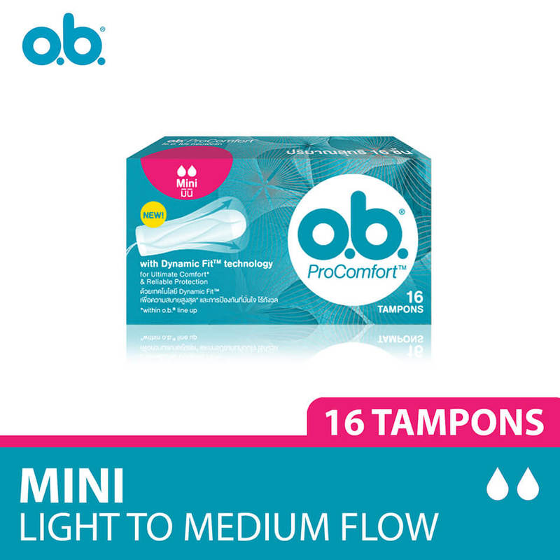 O.B. Pro Comfort Tampons Mini, 16pcs