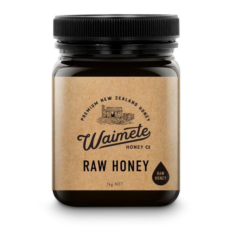 Waimete Raw Honey, 1kg