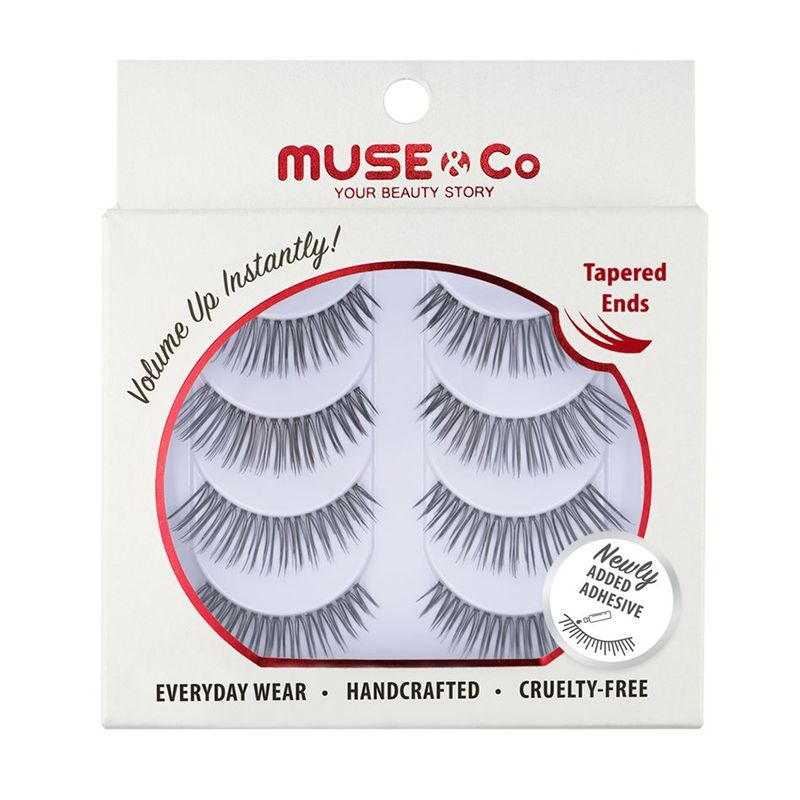 MUSE & Co - Multipack Eyelashes (4 pairs) - Allure