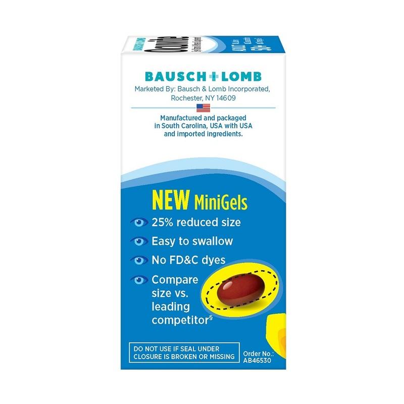 Bausch & Lomb Ocuvite Eye Vitamin Adult 50+, 50pcs