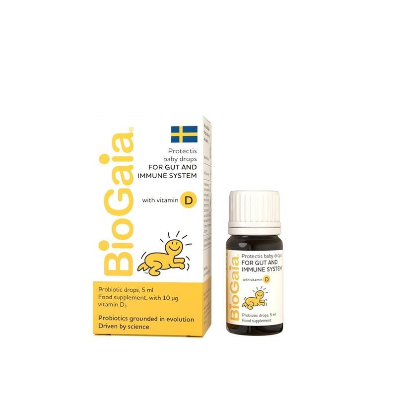 Biogaia Probiotic Oil Drop with Vitamin D, 5ml
