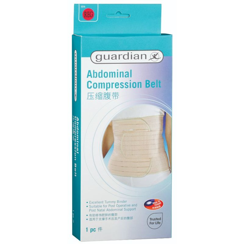 Guardian Compression Abdominal Belt Regular 1pc