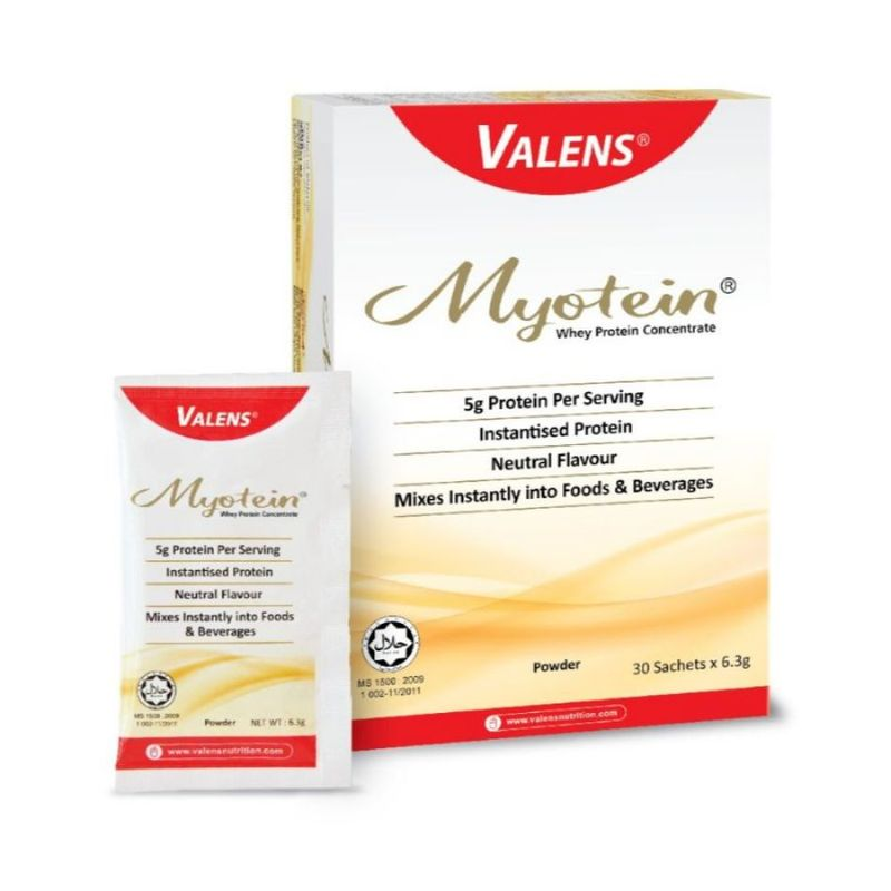 Valens Myotein, 30x6.3g