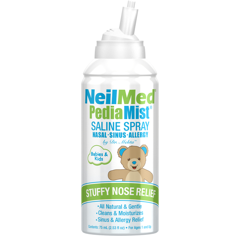 NeilMed Pedia Mist Saline Spray Babies & Kids, 75ml