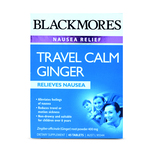 Blackmores Travel Calm Ginger Nausea Relief, 45 tablets