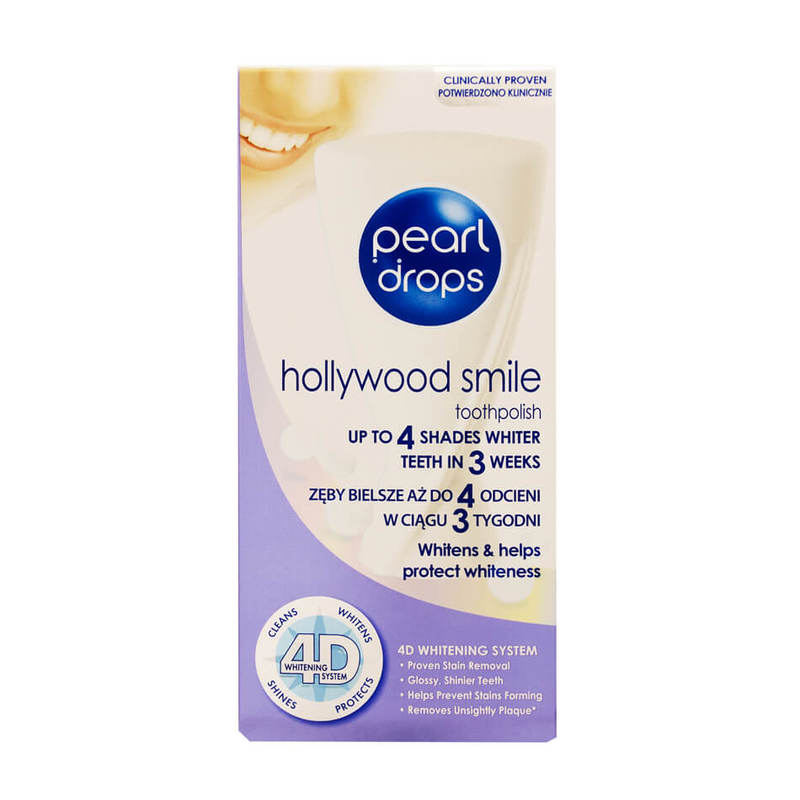 Pearl Drops Hollywood Smile 4D System Toothpolish, 50ml