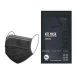 NTS Mask 3-Ply Protection Face Mask Charcoal