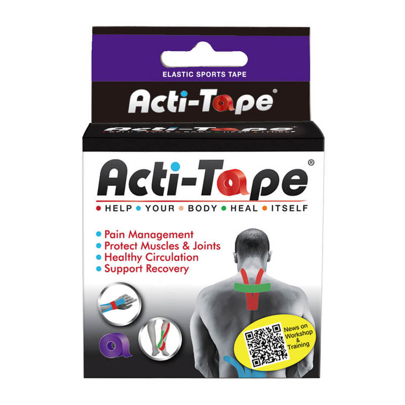 Acti-Tape Purple Sports Tape 5cm x 5m