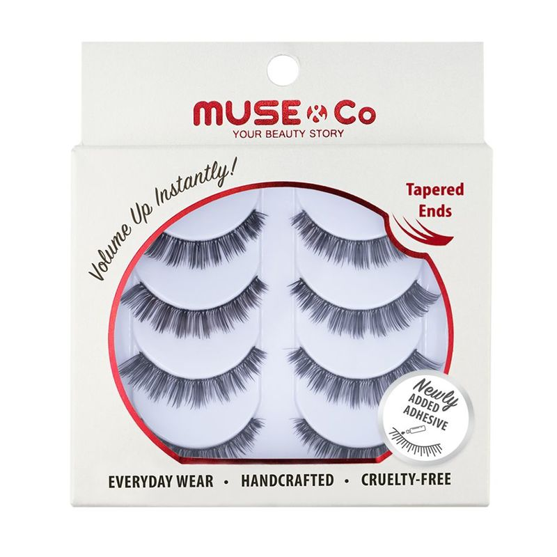 MUSE & Co - Multipack Eyelashes (4 pairs) - Everyday