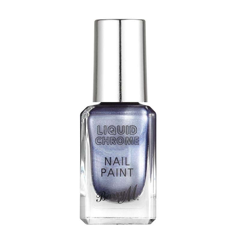 Barry M Liquid Chrome Nail Paints Glow Crazy, 10ml
