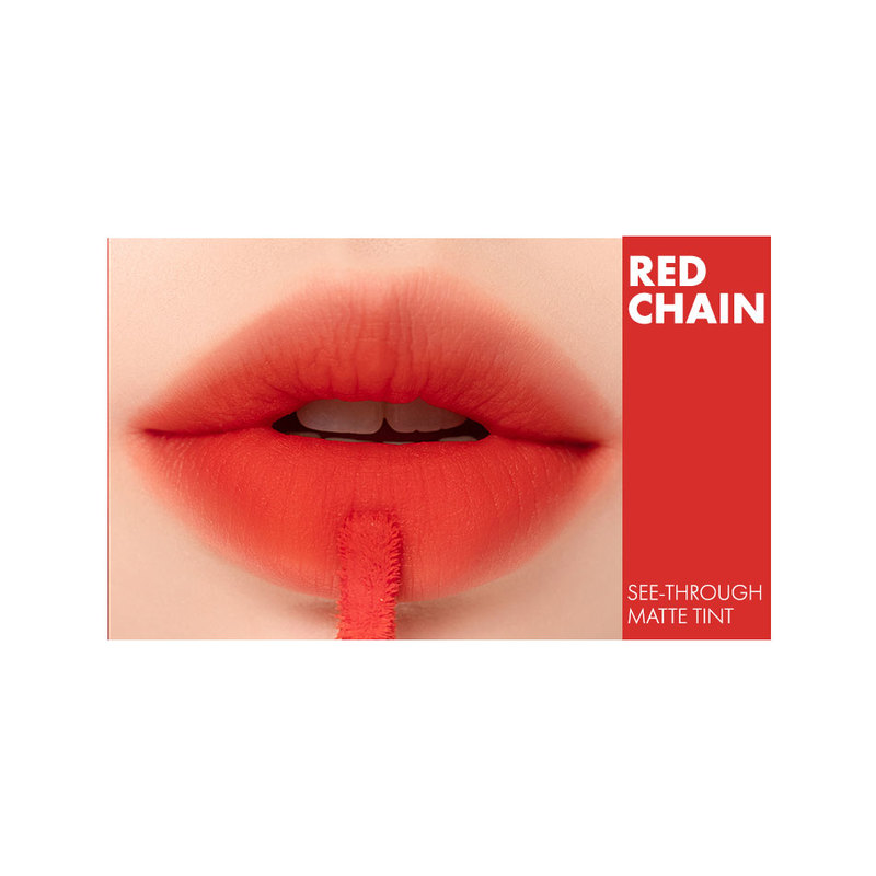 Romand See-Through Matte Tint 04 Red Chain