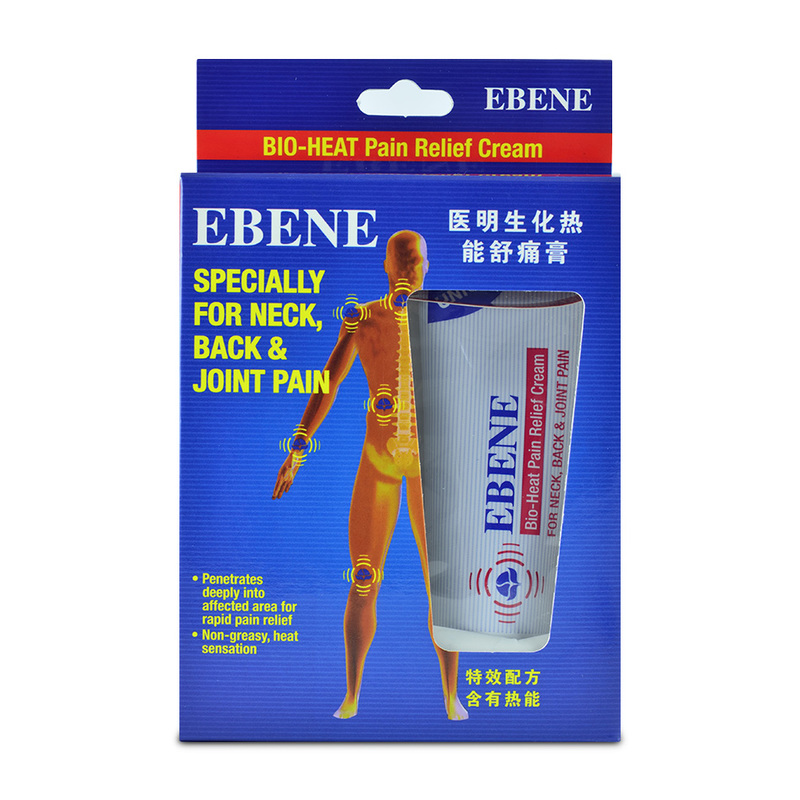 Ebene Bio-Heat Wonder Pain Relief Cream, 50g