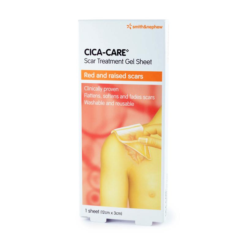Smith & Nephew CICA-CARE  12cm x 3cm Scar Treatment Gel Sheet 1pc