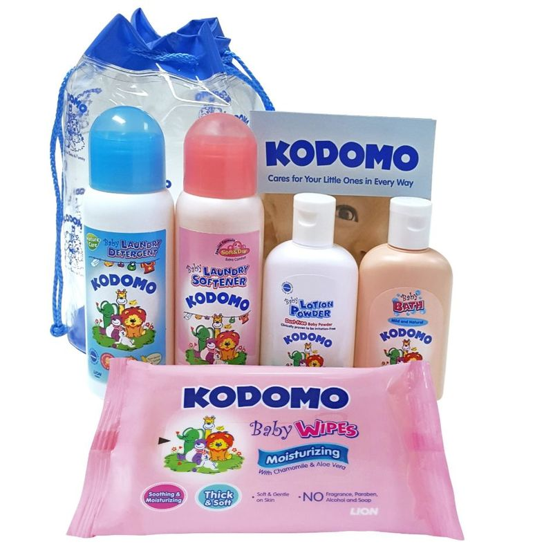 Kodomo Gentle Care Kit Free Gift