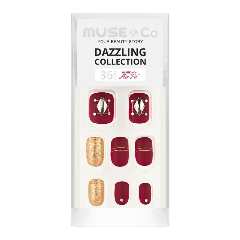 MUSE & Co Dazzling Collection 36 Nails, Lady Brilliance