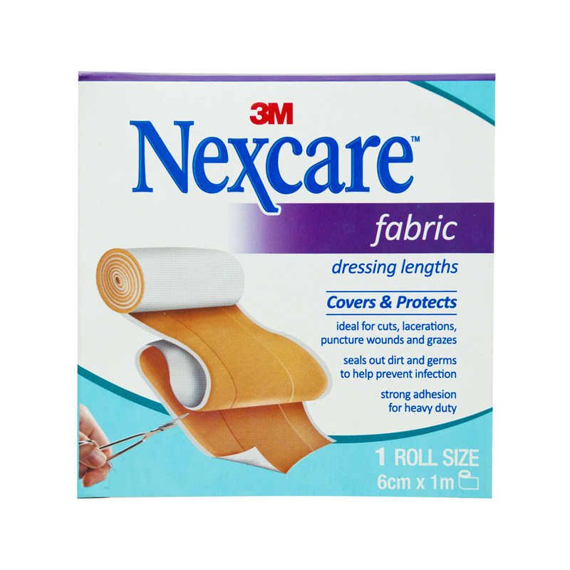 Nexcare Fabric Dressing Length