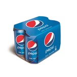Pepsi Cola CSD 330ml x4-F