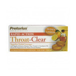 Pretorius Throat Clear Lozenges Honey Lemon, 20pcs