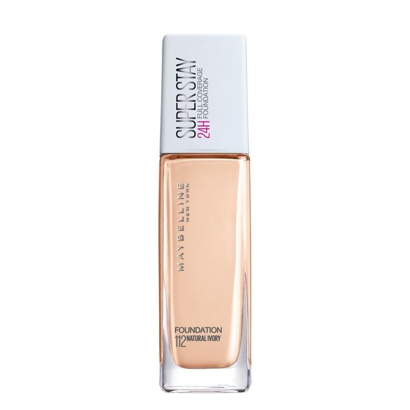 Maybelline Superstay Full Coverage Foundation Natural Ivory 112 30ml