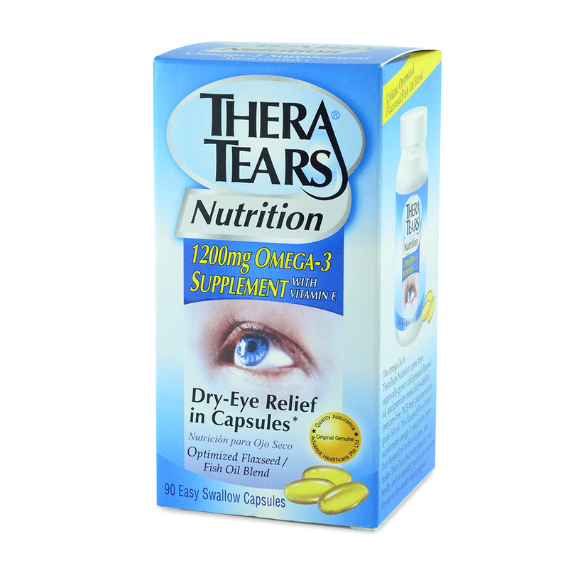 Thera Tears Dry Eye Relief Capsules, 90 capsules