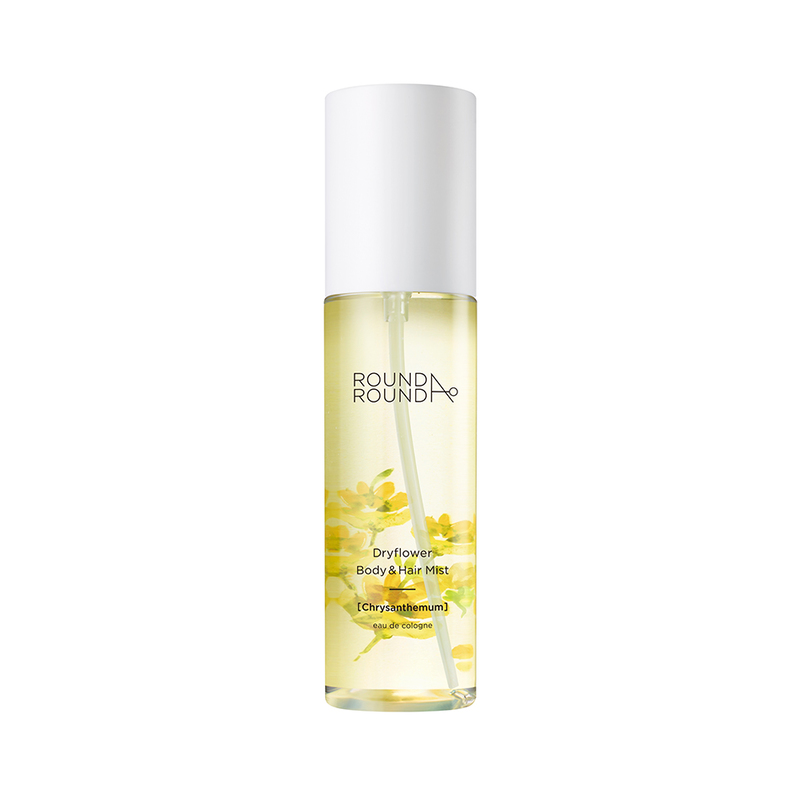 Round A'Round Dryflower Body & Hair Mist (Chrysanthemum) 100ml