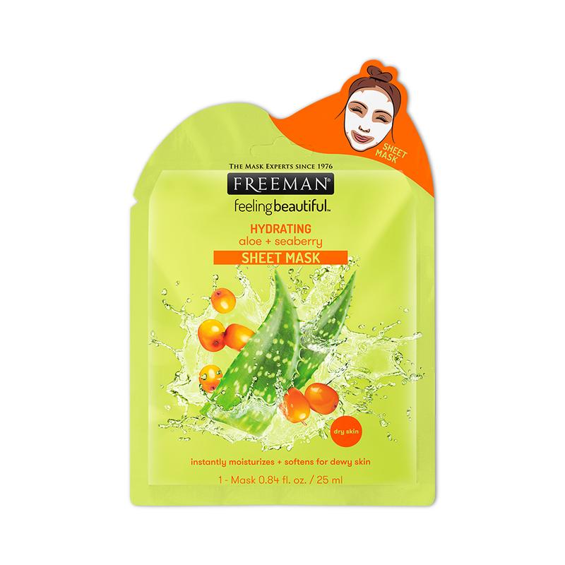 Freeman Hydrating Aloe + Seaberry Sheet Mask