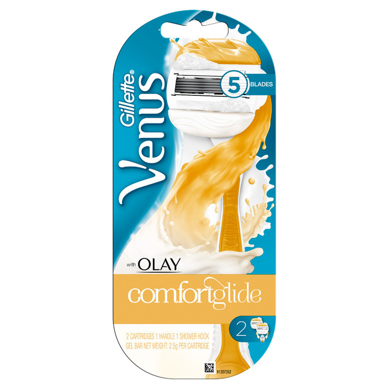 Gillette Venus with Olay Comfortglide, 2pcs plus 1 Handle