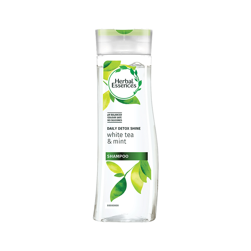 HERBAL ESSENCES herbal essences daily detox shine shampoo white tea mint 300ml
