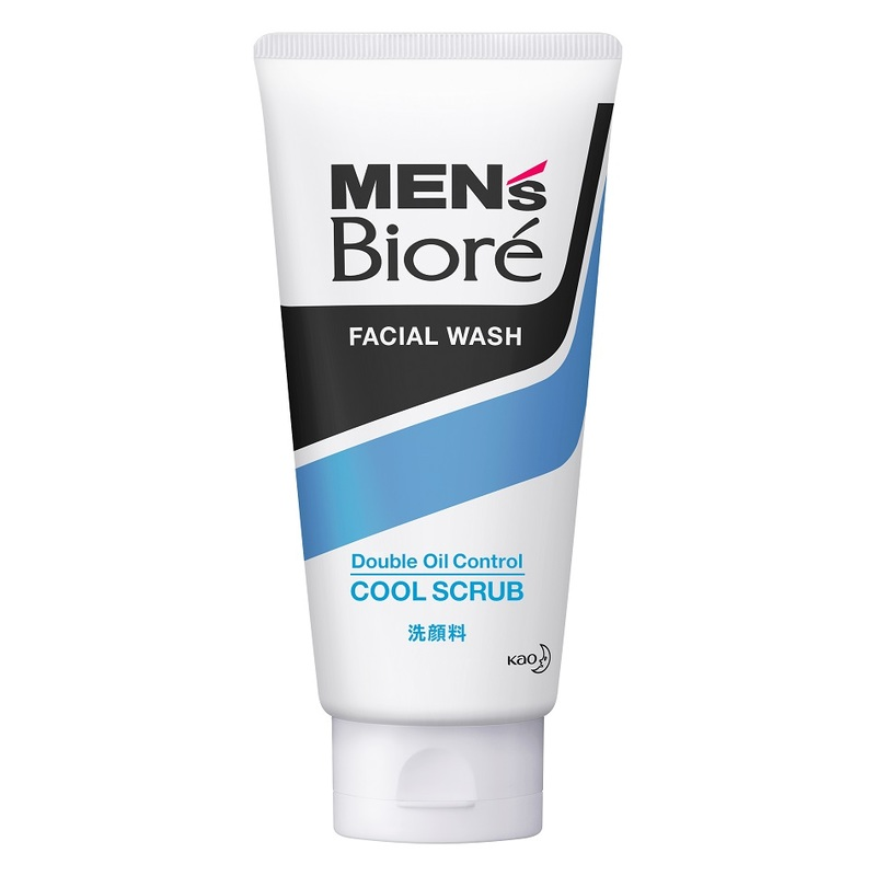BIORE MEN Men Double Oil Control Cool Scrub 130g