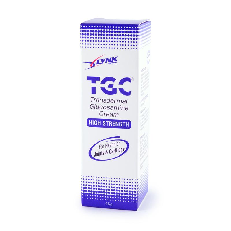 Lynk TGC High Strength Glucosamine Cream, 45g