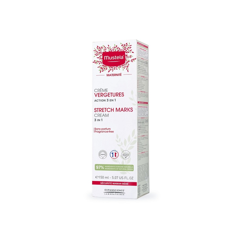 Mustela Stretch Marks Prevention Cream (Fragrance Free) 150mL