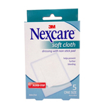 Nexcare Soft Cloth Bloodstop Dressing, 5pcs