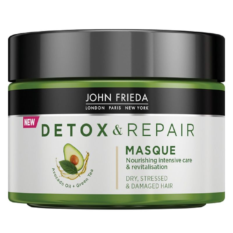 John Frieda Detox & Repair Hair Mask, 250ml
