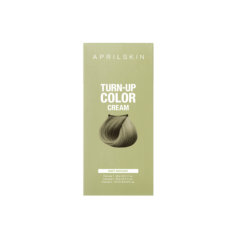 Aprilskin Turn Up Color Cream Matt Avocado, 206g
