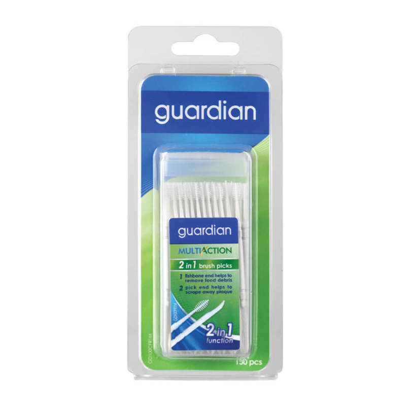 Guardian 2-in-1 Brush & Tooth Pick