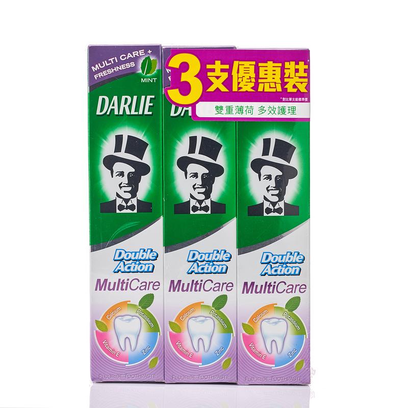 Darlie Double Action Multicare 140gx3pcs
