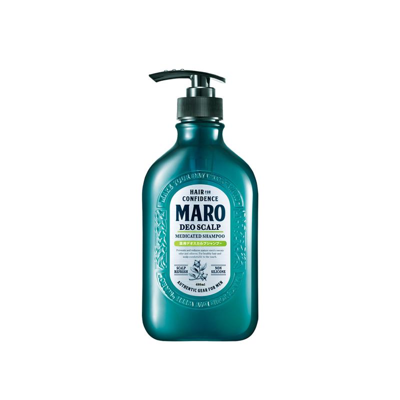Maro Deo Scalp Medicated Shampoo, 480ml