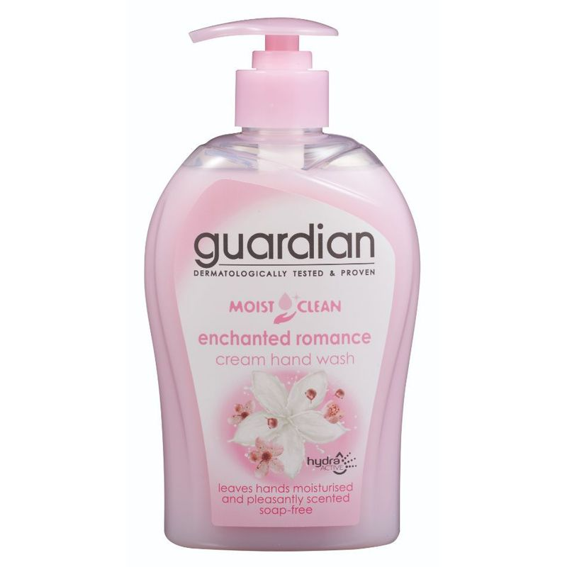 Guardian Moist Clean Cream Hand Wash Enchanted Romance, 500ml