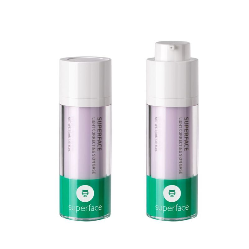 Superface Light Correcting Skin Base 01 Lilac Purple 30g