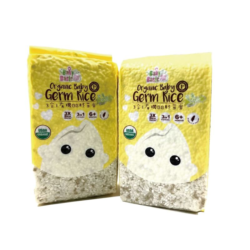 Baby Basic 3-in-1 BB Germ Rice (6M+) 500g