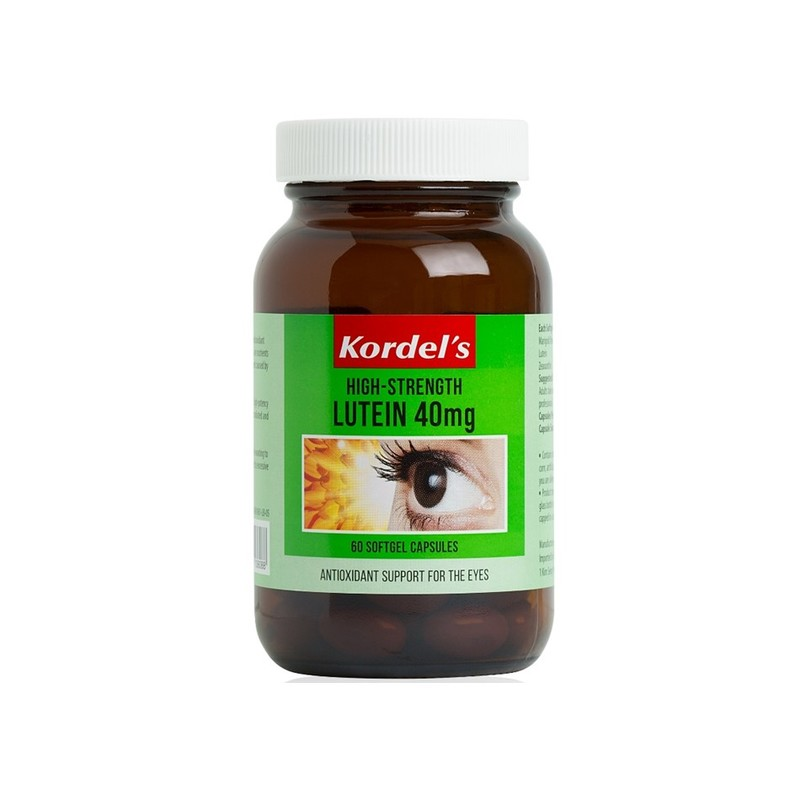 Kordel's Hi-Strength Lutein 40mg 60s