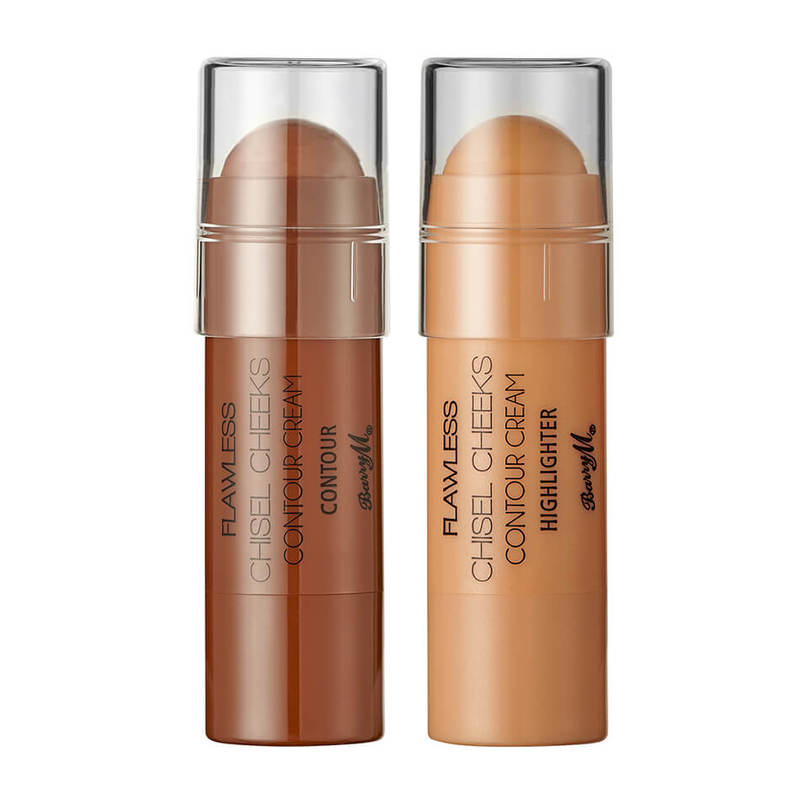 Barry M Chisel Cheeks Contour Creams Highlighter, 1.2g