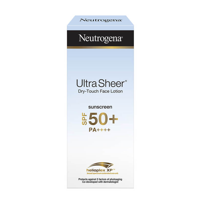 Neutrogena Ultra Sheer Face Lotion SPF50 50ml