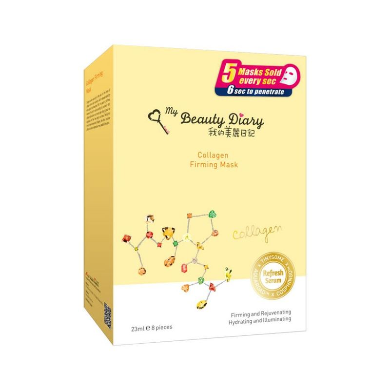 My Beauty Diary Collagen Mask, 8pcs