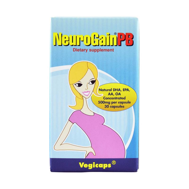 Neurogain PB Vegicaps, 30 capsules